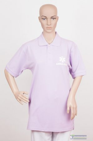 Collar Tshirt( Polo shirt) unisex purple