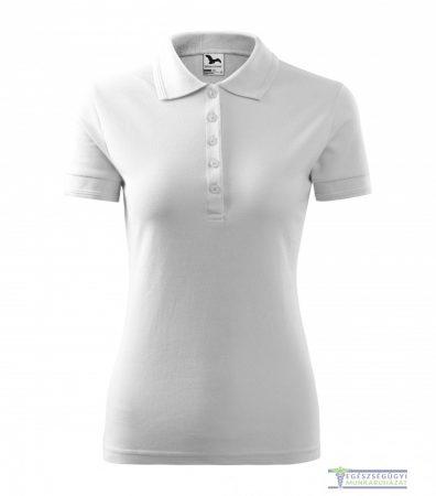 Ingnyakas póló női fehér