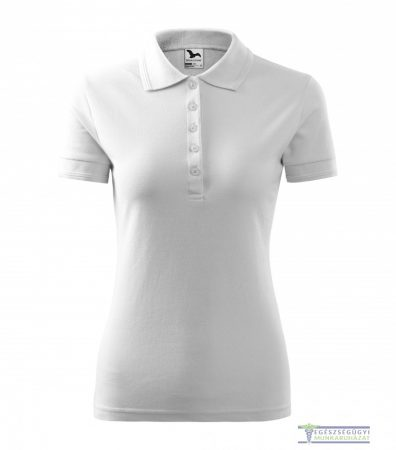 Women collar Tshirt( Polo shirt) white