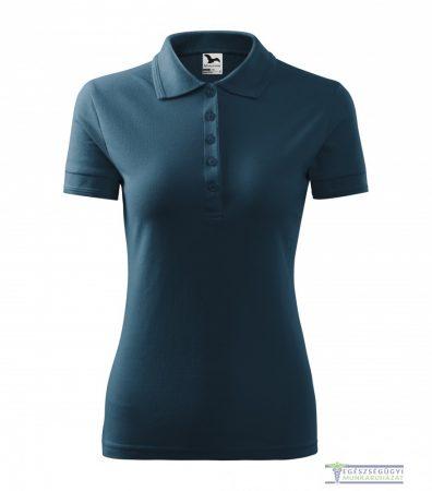 Women collar Tshirt( Polo shirt) navy