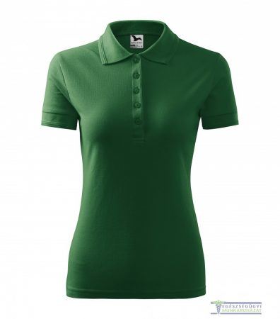 Women collar Tshirt( Polo shirt) bottle green