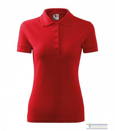 Women collar Tshirt( Polo shirt) red
