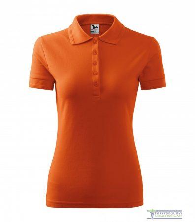 Ingnyakas póló női narancssárga