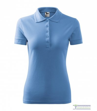 Women collar Tshirt( Polo shirt) sky blue
