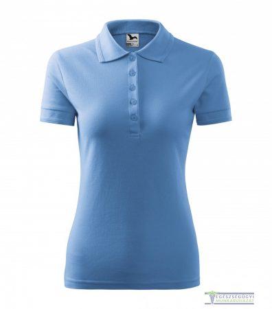 Women collar Tshirt( Polo shirt) sky blue