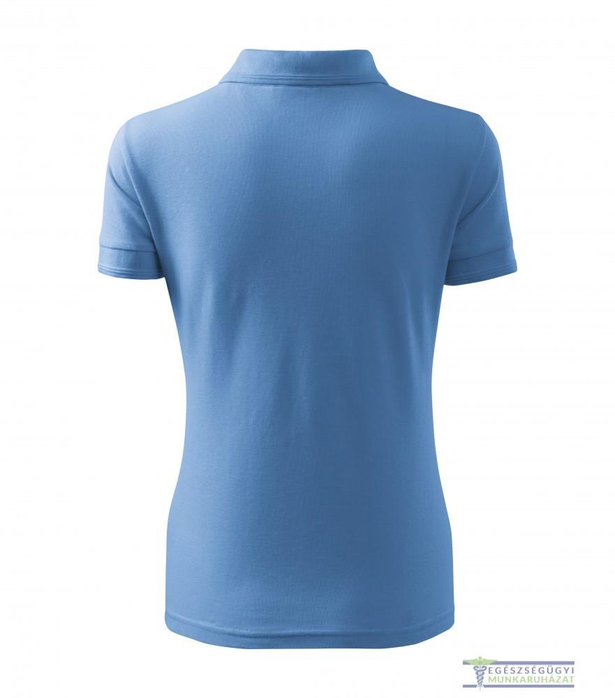 2fd7a7c21b Ingnyakas póló női égszínkék - Egészségügyi munkaruházat