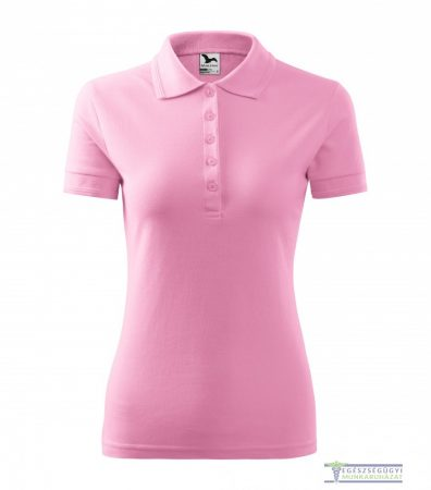 Women collar Tshirt( Polo shirt) pink