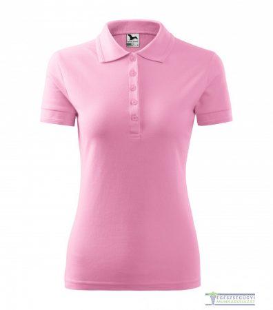 Ingnyakas póló női rózsaszín