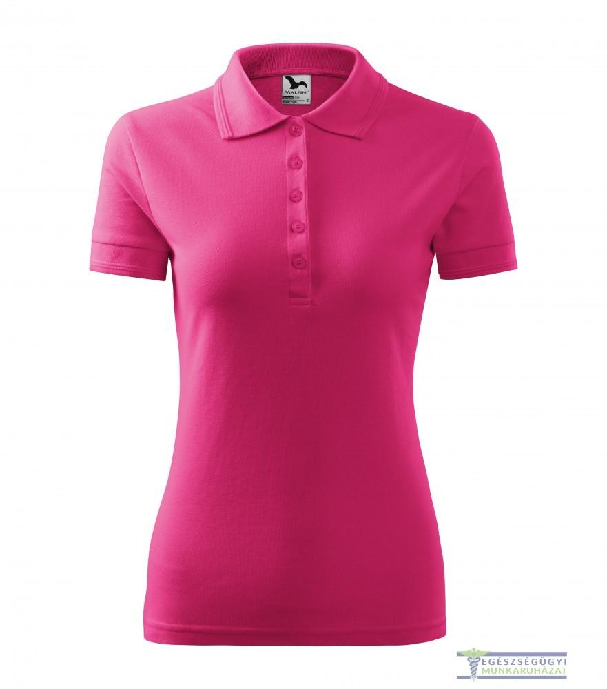 f524602426 Ingnyakas póló női málna - Egészségügyi munkaruházat