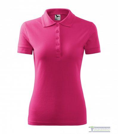 Women collar Tshirt( Polo shirt) raspberry color