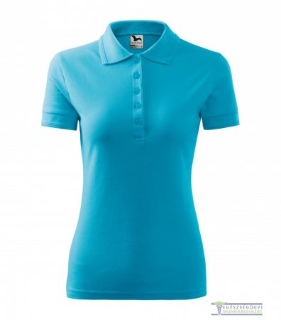 Women collar Tshirt( Polo shirt) turquoise