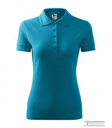 Ingnyakas póló női smaragdzöld