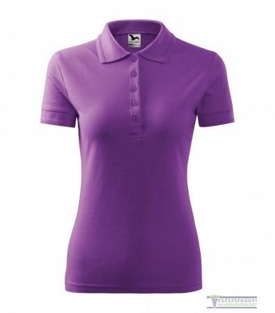 Women collar Tshirt( Polo shirt) purple