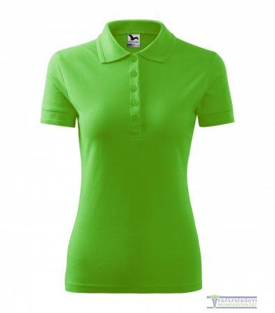 Women collar Tshirt( Polo shirt) apple green