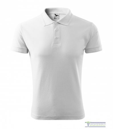 Men collar Tshirt( Polo shirt) white