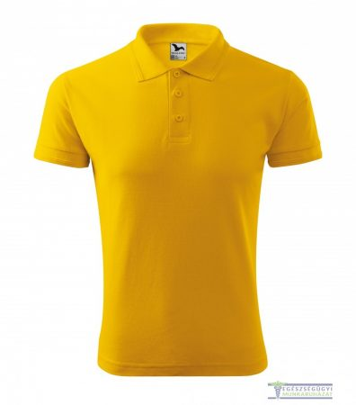 Men collar Tshirt( Polo shirt) yellow
