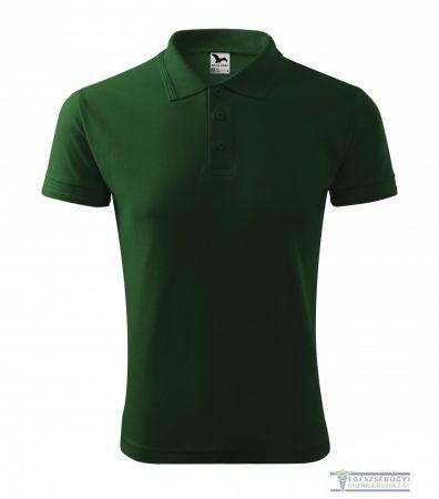 Men collar Tshirt( Polo shirt) bottle green