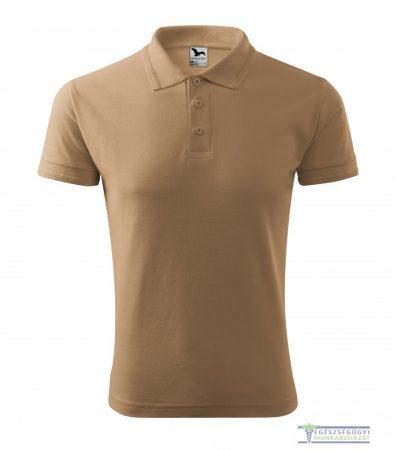 Ingnyakas póló férfi barna