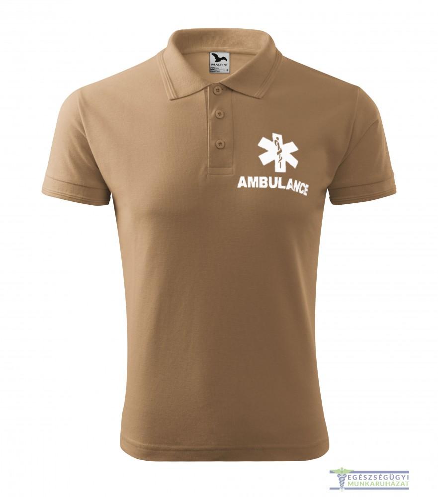 b8347587c0 Men collar Tshirt( Polo shirt) brown - Egészségügyi munkaruházat