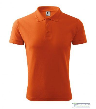 Ingnyakas póló férfi narancssárga