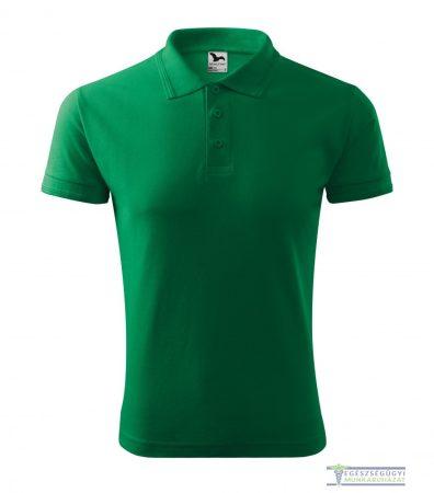 Ingnyakas póló férfi fűzöld