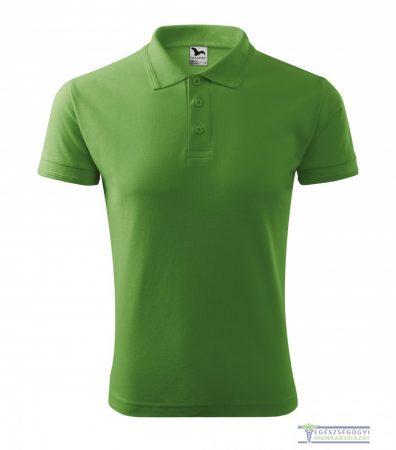 Ingnyakas póló férfi borsózöld