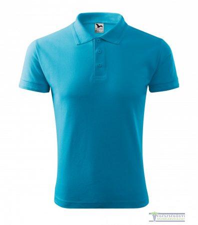 Men collar Tshirt( Polo shirt) turquoise