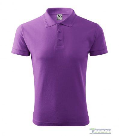 Ingnyakas póló férfi lila