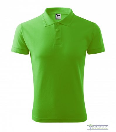 Men collar Tshirt( Polo shirt) apple green