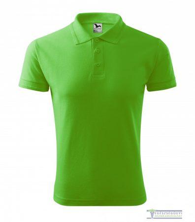 Ingnyakas póló férfi zöldalma