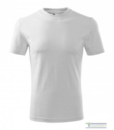 Kerek nyakas férfi póló fehér
