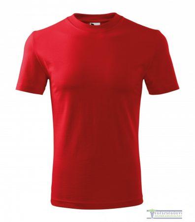 Kerek nyakas férfi póló piros