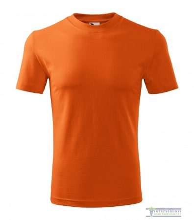 Men round neck Tshirt orange