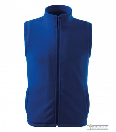 Polar vest unisex royal blue