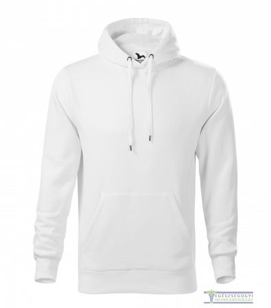 Men hooded sweater white