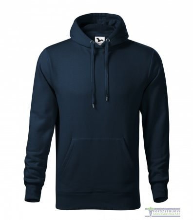 Men hooded sweater navy