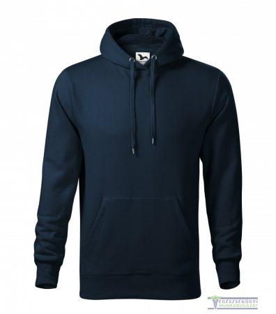 Men hooded sweater navy