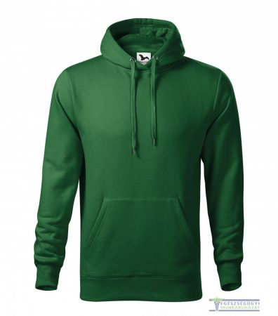 Men hooded sweater bottle green