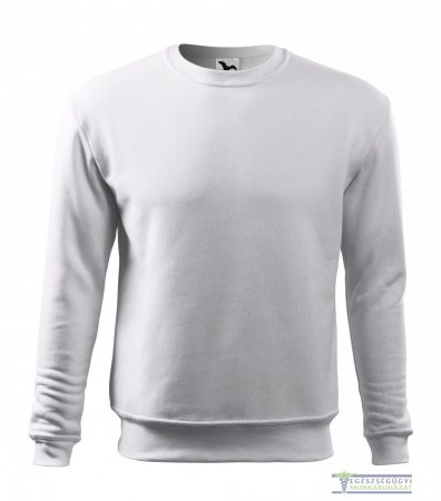 Men / Child Round neck sweater white
