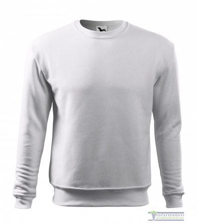 Men / Child Round neck sweater white