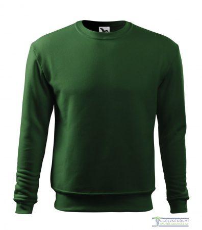 Men / Child Round neck sweater bottle green