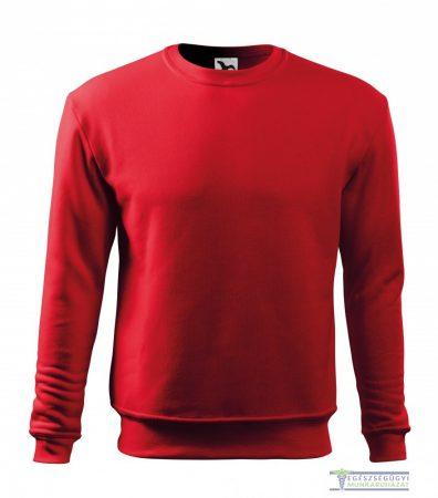 Men / Child Round neck sweater red