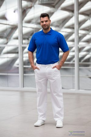 Men white medical pants