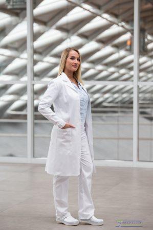 Kamélia lab coat