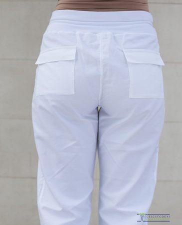 Pants with back pocket