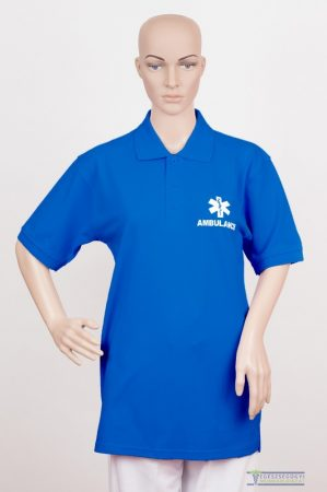 Collar Tshirt( Polo shirt) unisex royal blue