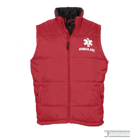 Red ambulance vest