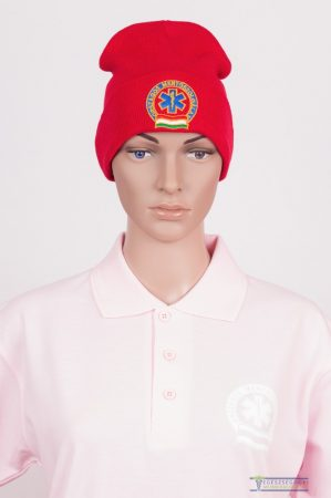 Red ambulance cap